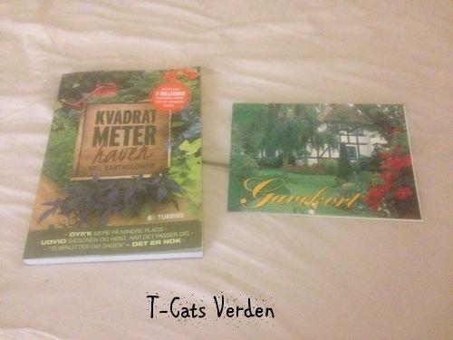 Kvadrat meter haven samt gavekort