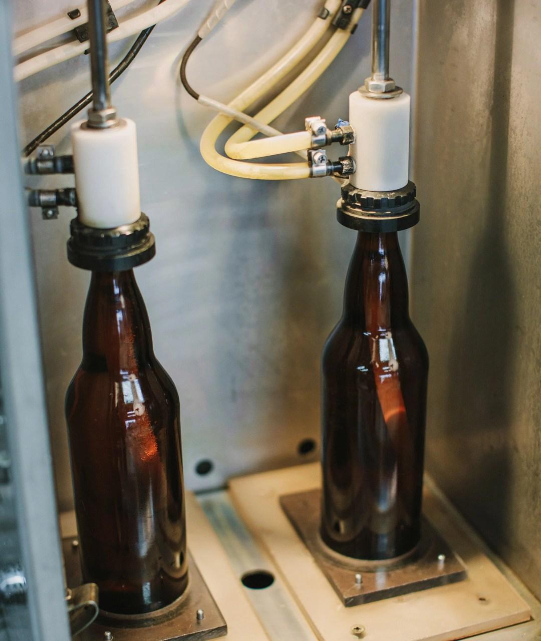Terminal City Brewing Bottles Bottling