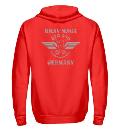 krav Maga Federation Germany Zipper F - Zip-Hoodie-5761