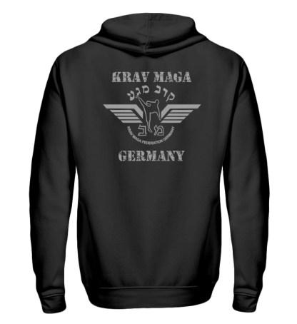 krav Maga Federation Germany Zipper F - Zip-Hoodie-16