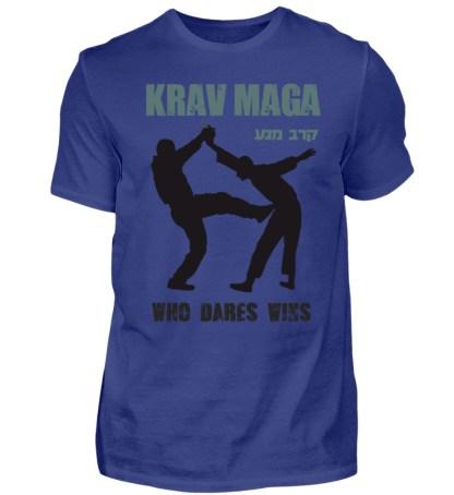Krav Maga - Who Dares Wins - Herren Premiumshirt-2962