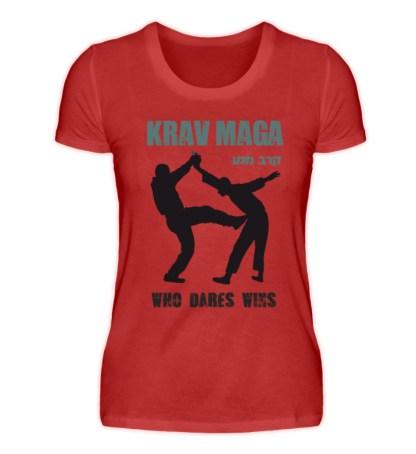Krav Maga - Who Dares Wins - Damenshirt-4