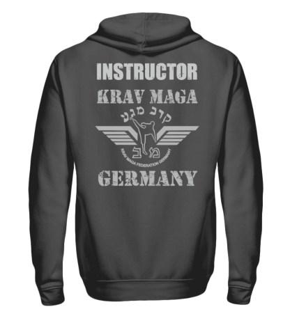 KMFG Instructor (Black Belt) - Unisex Kapuzenpullover Hoodie-1762
