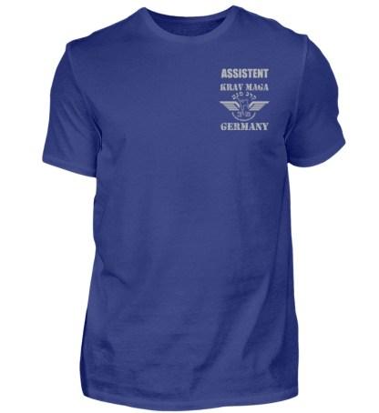 KMFG Assistent (Blue-Brown Belt) - Herren Premiumshirt-2962