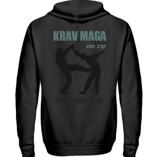 Krav Maga - Who Dares Wins - Zip-Hoodie-16