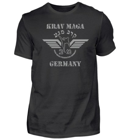 Krav Maga Touch me! And Your First.. - Herren Premiumshirt-16