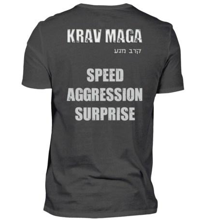 Speed Aggression Surprise - Herren Premiumshirt-2989
