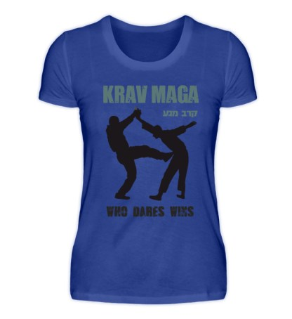 Krav Maga - Who Dares Wins - Damen Premiumshirt-27