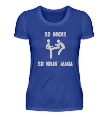 No Groin - No Krav Maga - Damen Premiumshirt-27