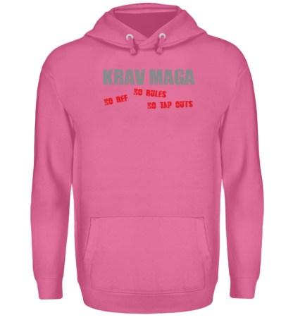 No Ref - No Rules - No Tap Outs - Unisex Kapuzenpullover Hoodie-1521