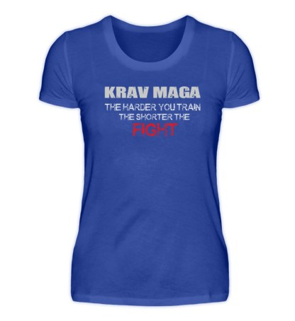 Krav Maga - The Harder You Train... - Damenshirt-2496