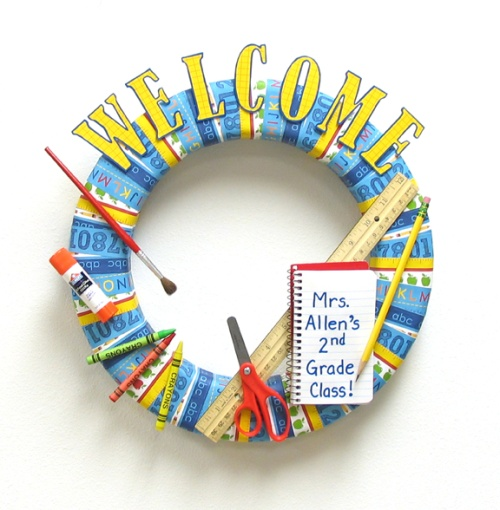 Welcome Back To School Wreath Think Crafts By CreateForLess