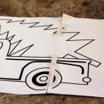 Christmas Tree Farm Truck Painting Think Crafts By Createforless