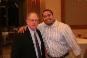 Bob Allbee and Edwin Colon