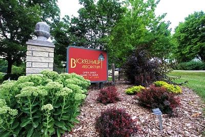 Red Bickelhaupt Arboretum entrance sign