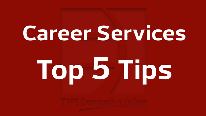 Career Services Top 5 Tips