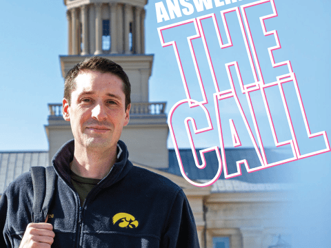 Answering the Call article layout