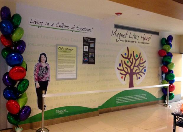 Baylor-All-Saints-Medical-Center-Magnet-Lives-Here-Wall