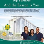 Torrance Memorial Magnet® Recognition Ad