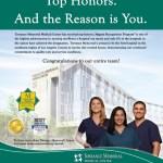 Torrance Memorial Magnet® Recognition Ad
