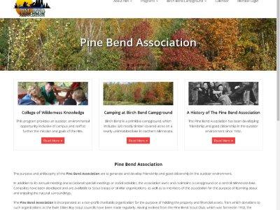 Pine Bend Association website image