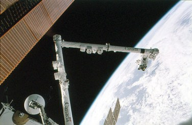 The Canadarm - a fine piece of Canadian technology, that would have gone nowhere without the US.