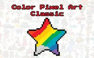 Color Pixel Art Classic Jeux De Enfants 1001 Jeux
