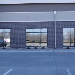 Glass work done by Tri-County Glass Inc.   Hampton Inn - Kearney, NE