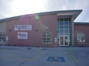Glass work done by Tri-County Glass Inc.   Reach Your Destination Easily (RYDE) Transit - Kearney, NE