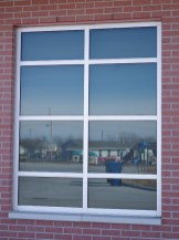 Glass work done by Tri-County Glass Inc. | Reach Your Destination Easily (RYDE) Transit - Kearney, NE