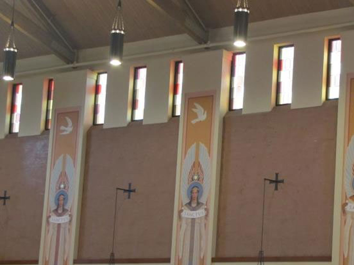 Glass work done by Tri-County Glass Inc. | Prince of Peace Catholic Church - Kearney, NE