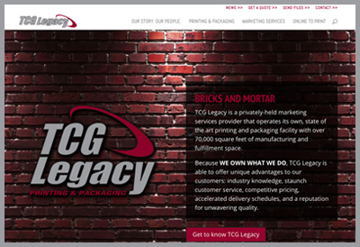 TCG Legacy launches new website