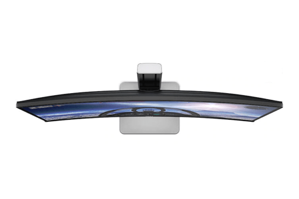 Top view of Dell Curved Monitor U3415W