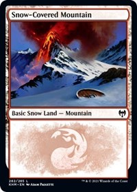 Snow-Covered Mountain (282)