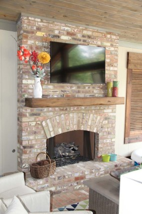 Custom home fireplace remodel - Madison Mississippi
