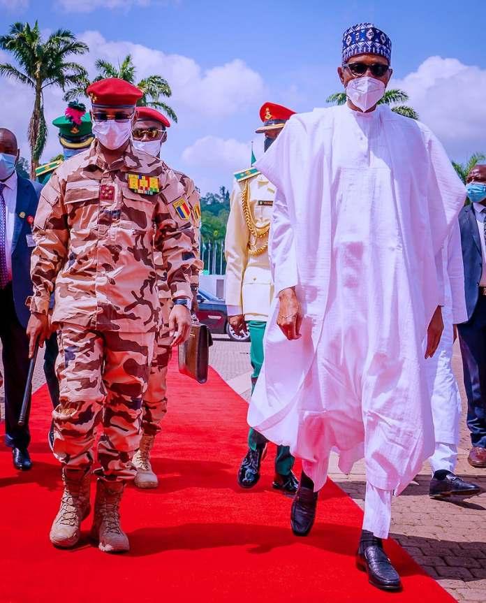 Ce que se sont dit Buhari et Mahamat Deby - Tchadinfos.com