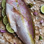 Poisson Gros Sel, a red snapper cooked in a court-bouillon with coarse salt, is a typical Haitian dish that is quite easy to make. Grab the recipe now. | tchakayiti.com