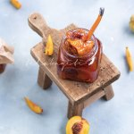 This sumptuous peach jam is prepared with Haitian grown peaches. A delightful recipe to add to your collection. | tchakayiti.com