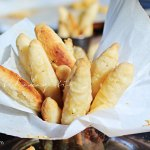 These Haitian cheese sticks require 3 ingredients: butter, cheese, flour. A great baking lesson for young kids. | tchakayiti.com