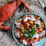 This zesty crab salad makes for a great appetizer. You can also use it enhance your soups. | tchakyiti.com