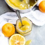 This sweet yet tart sour orange curd is the perfect topping for your sweet treats. | tchakayiti.com