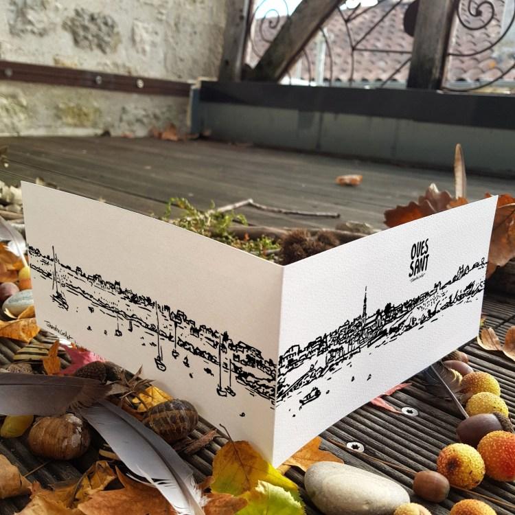 Carte postale artistique Ouessant