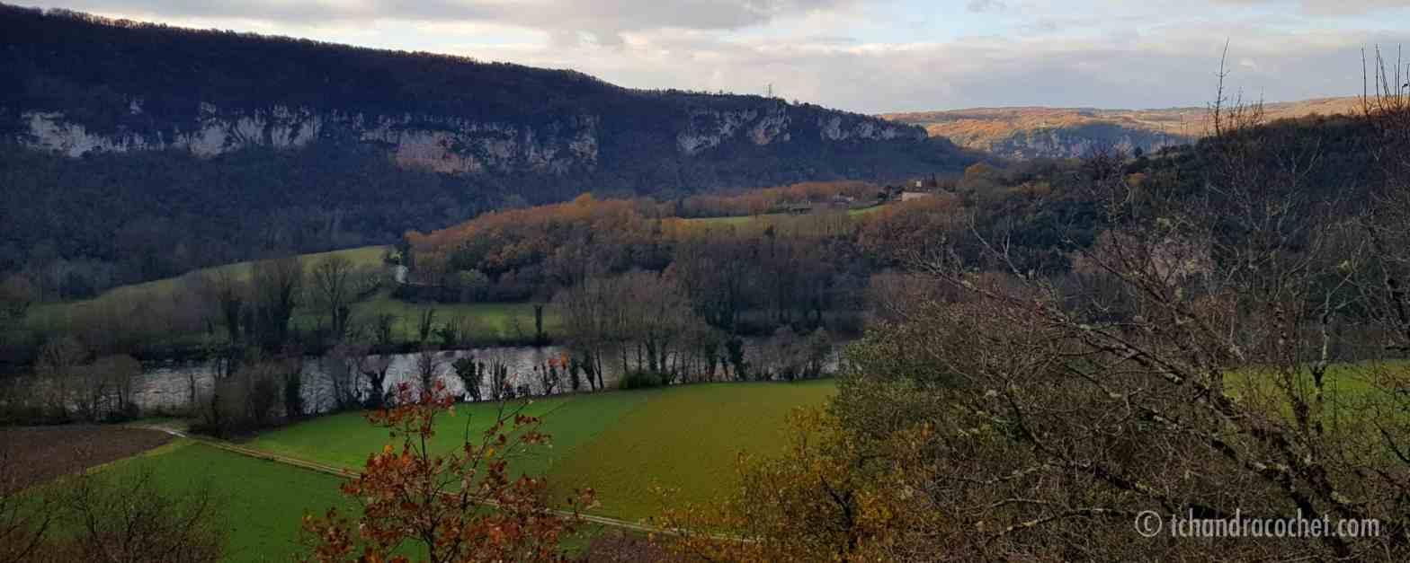 Paysage Vallée du Lot, Lot, Quercy