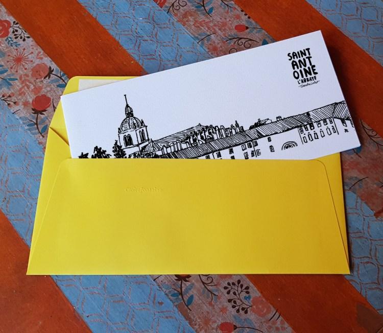 Carte postale createur Saint-Antoine l'Abbaye