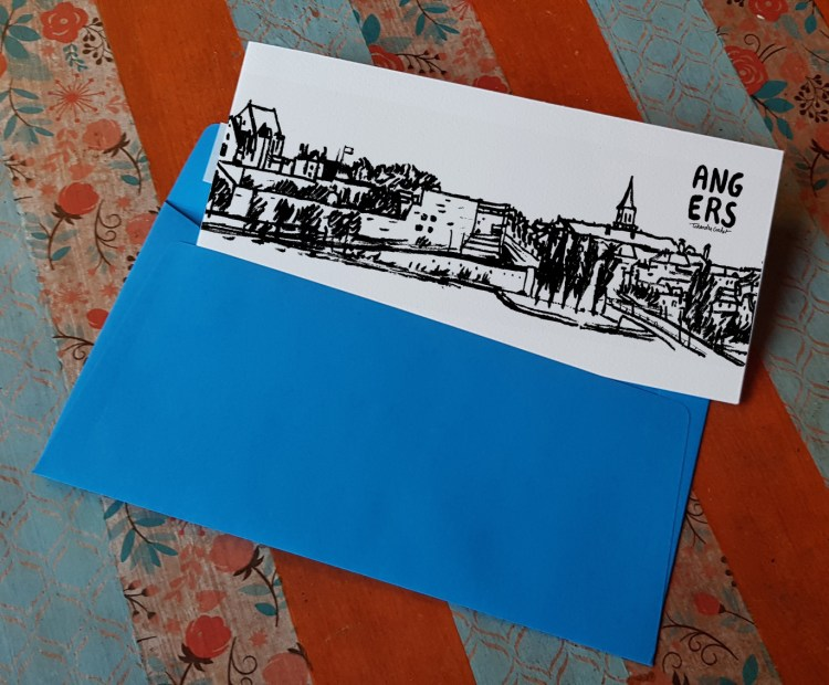 Carte postale createur Angers