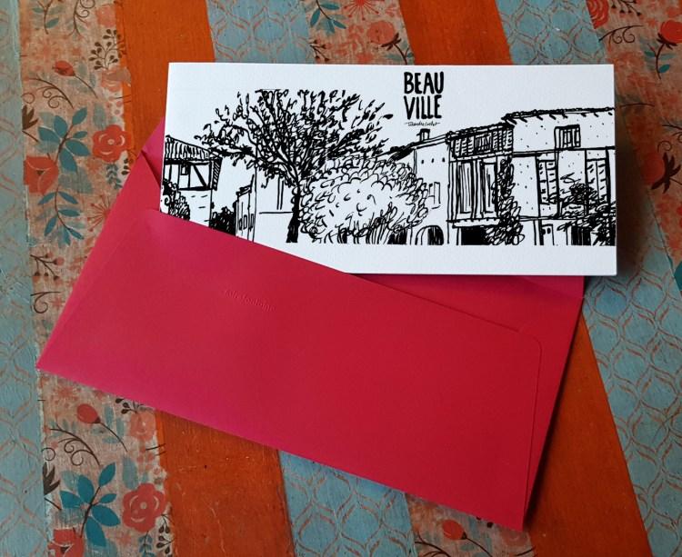 Carte postale createur Beauville