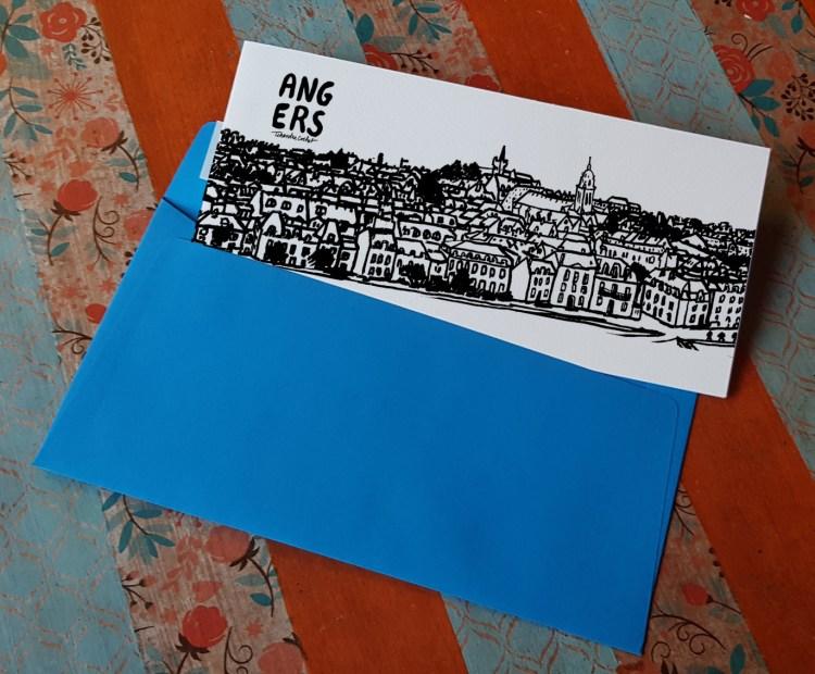 Carte postale la Doutre Angers