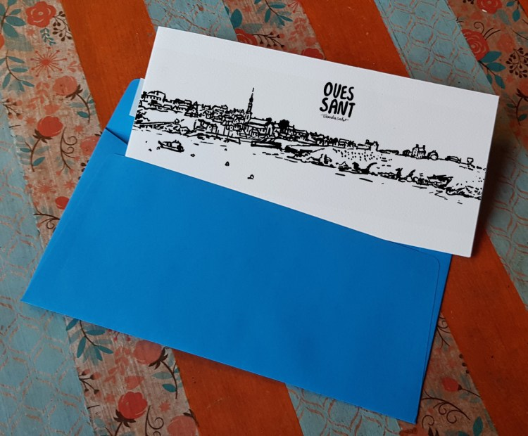 Carte postale createur Ouessant