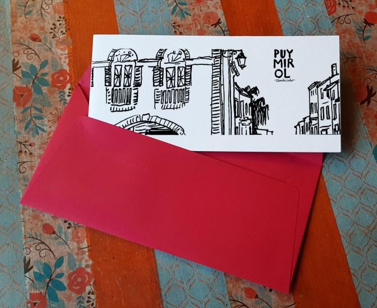 Carte postale createur Puymirol