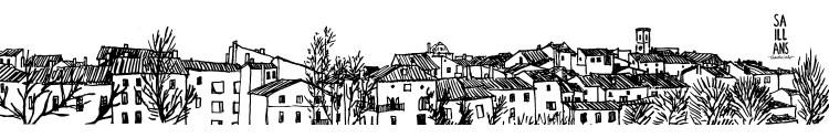 Affiche dessin Saillans